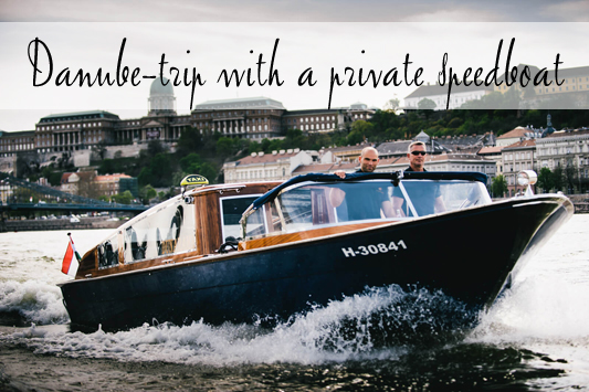 Private Danube trip with an exlusive speedboat in Budapest